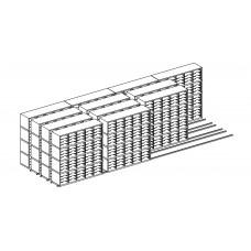 High Density Sorters and Storage 960 Adjustable Pockets