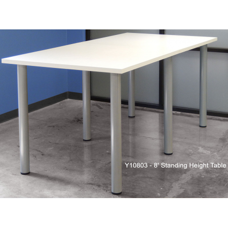 Standing Meeting Conference Table FREE FREIGHT - Standing height meeting table