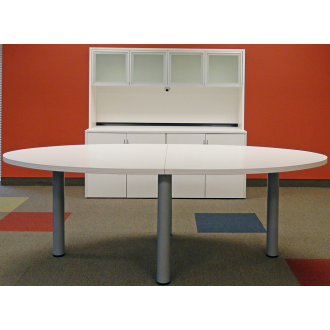 8' Oval Conference Table FREE FREIGHT