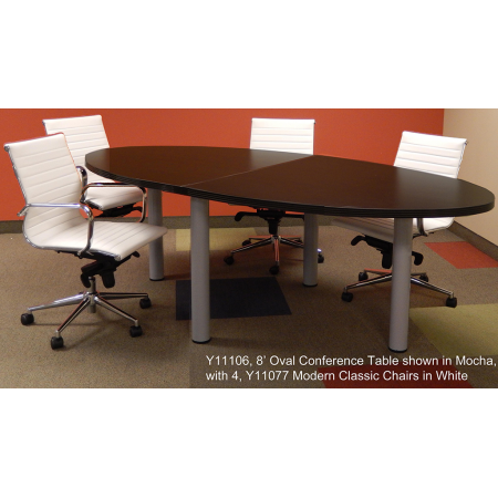 Oval Conference Table FREE FREIGHT - Oval conference table for 8