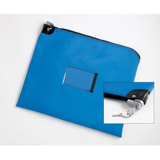 "Mailing Bag and Mail Pouches Heavy Duty Vinyl Mail Bag with Built in Security Lock 22""W x 18""H (keyed alike)"