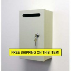 Special!! Limited Time Only! Steel Wall Mount Drop Box
