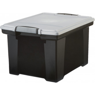 Mail Storage Box Stackable Plastic File Storage Boxes