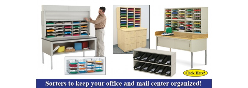 Mail Sorter (steel wood and wire) !