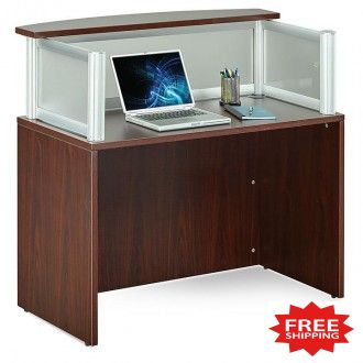 "48""W Reception Desk - FREE Shipping!"