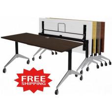 "60""W x 24""D Flip Top Folding Table - FREE SHIPPING"