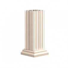 Classic Decorative Pillar Pedestal Cover for 4T5, 8, and 12 Door 1570 Model CBUs - VOGUEP128