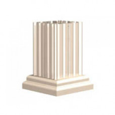 Classic Decorative Pillar Pedestal Cover for 8T6, 13, and 16 Door 1570 Model CBU's and all 1590 Model CBU's - VOGUEP114