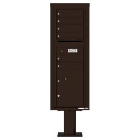 open residential mailboxes. Mailboxes Commercial And Residential Front Loading, 4C Mailbox W/6 Tenant  Mail Compartments, 1 Parcel Locker, Open Residential Mailboxes
