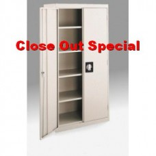 """4 Shelf Locking Storage Cabinet - """"Close-out"""" only two left"""""""