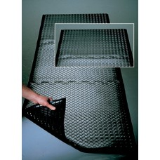 Mail Room and Office Supplies Interlocking Rubber Mat - Relieves Strain On Backs And Legs - End Section