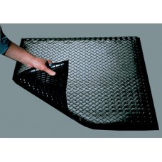 Mail Room and Office Supplies Interlocking Rubber Mat - Relieves Strain On Backs And Legs - Individual Single Section.