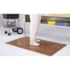 "Overstock, Only One Left at This Price! (Color Walnut) Anti-Fatigue Mat 36""W x 60""L"