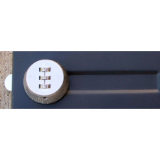 Mail Room and Office Supplies Combination Lock with Three Easy Turn Dials
