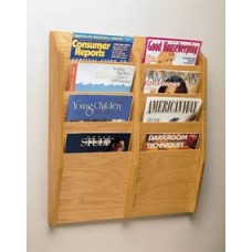 Double Wall Rack - 8 Pockets