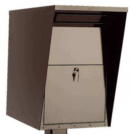 Mailing Products Steel Mail Drop Box Wall Mount