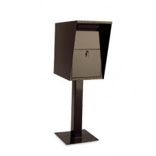 Mailing and Office Products Steel Mail Drop Box With Pedestal