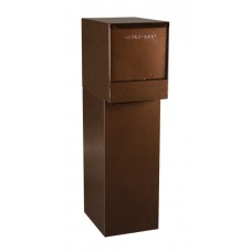 Mail Box Products Indoor/Outdoor Steel Pedestal Mail Box in 3 Different Colors