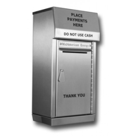 Mailing Products Stainless Steel Outdoor Payment Box