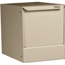 Mail Room and Office Products Indoor/Outdoor Steel Pedestal Mail Box in 3 Different Colors