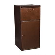 Mail Room and Office Mail Products Indoor/Outdoor Steel Mail / Package Drop Box in 3 Different Colors