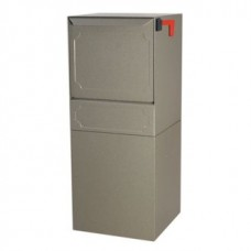 Mail Room and Office Mail Products Indoor/Outdoor Steel Pedestal Mail Box in 3 Different Colors