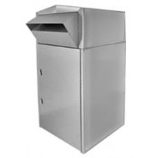 Mail Room and Office Mailing Products Walk or Drive up Stainless Steel Mail Box