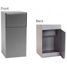 Mail Room and Office Mailing Products Outdoor Galvannealed Steel Mail Box