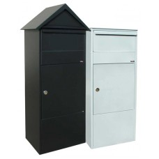 Mail Room and Office Mailing Products Outdoor / Indoor Galvanized Steel Mail Box