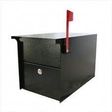 Mail Room and Office Mailing Products Indoor/Outdoor Steel Pedestal Mail Box in 3 Different Colors