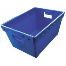"Mail Room and Office Supplies Corrugated Plastic Mail Tote 15-1/2""L x 11-1/2""W x 8""H"