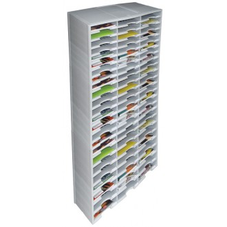 Office Organizers and Mail Room Sorters 72 Pocket Plastic Economy Literature Organizer