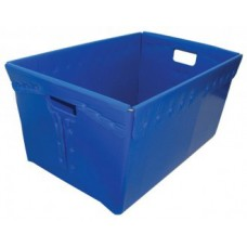 "Charnstrom Mail Center and Office supplies Corrugated Plastic Tote 24"" x 16"" x 12""H"
