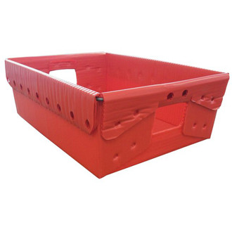 """Close Out while Supplies Last, 18 1/4"""" x 13 1/4"""" x 6""""H Corrugated Plastic Tote"""