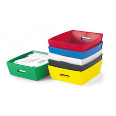 "Mail Room and Office Supplies Corrugated Plastic Letter Trays 13-1/2""x 12""x4-3/4""H (Minimum Order of 10)"