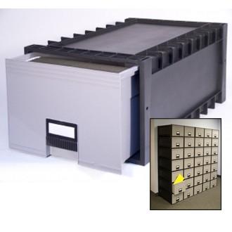 Plastic Archive/File Box.