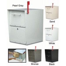 Mail Room and Office Mailing Products Locking Curbside Mailbox - Medium Capacity