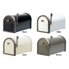 Residential Mailbox with Antique Copper Accents