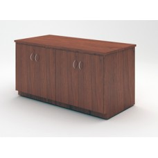 "Custom Mail Room And Office Furniture - 63""W Custom Wood Table with Doors"