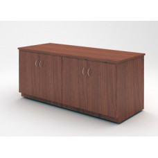 """Custom Mail Room and Office Furniture -  75-1/4"""" Wide Custom Wood Table with Doors"""