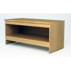 """Custom Office and Mail Room Furniture - 63"""" Wide Custom Wood Open Table"""