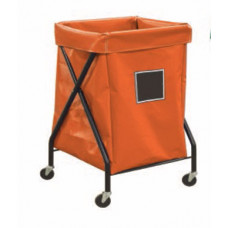 Mail Room Supplies and Carts 6 Bushel Collapsible Bulk Mail and Package Hamper