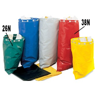 "Mail Room Supplies - Colored Reinforced Vinyl Mailbag 26""H X 23""W"