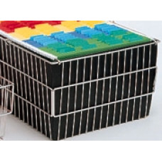 Mail Room and Office Cart Supplies Black Nylon Basket Liner - Fits our Compact Wire Basket