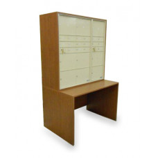 Large Laminated Wood Cabinet - Wood Cabinet Only!