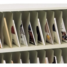 """13-1/4""""H x 12-1/4""""D Vertical Shelf for 12"""" or 15"""" Deep Mail Sorters"""