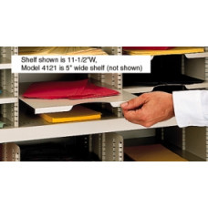 "Mailroom Supplies 5""W x 12-1/4""D Horizontal Mail Sorter or Office Organizer Shelf"
