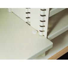 Mailroom Supplies Plastic Shelf Stops