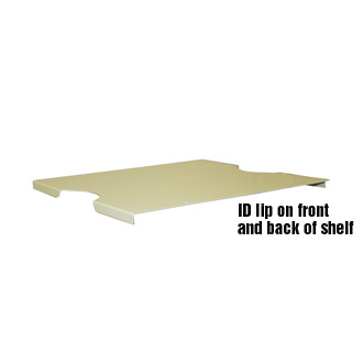 "Mailroom Accessory 11-1/2""W x 12-1/4""D Open Back Mail Sorter Shelf"