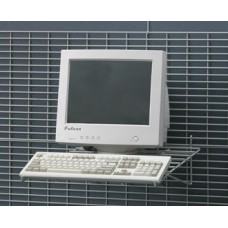 "25-1/2""W Monitor Keyboard Shelf - FREE Shipping!"